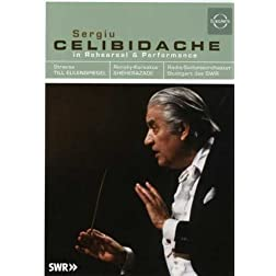 Celibidache in Rehearsal & Performance