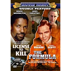 License to Kill/Formula