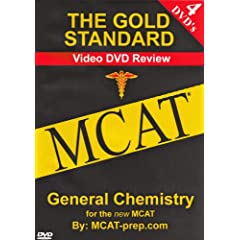The Gold Standard Video MCAT Science Review on 4 DVDs: General Chemistry