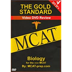 The Gold Standard Video MCAT Science Review on 4 DVDs: Biology