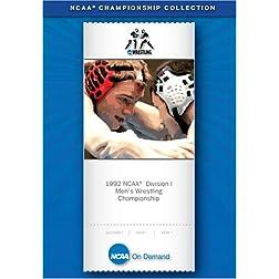 1992 NCAA(R) Division I Men's Wrestling Championship