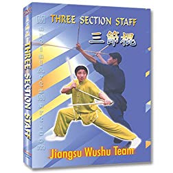 Wushu Three Section Staff