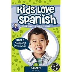 Kids Love Spanish: Volume 3 - Family