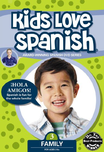 Kids Love Spanish: Volume 3 - Family