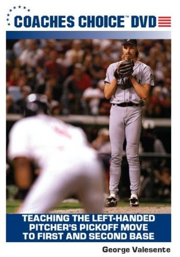Teaching The Left-Handed Pitcher's Pickoff Move To First And Second Base