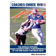The Spread Offense: Basic Foundations & Fundamentals Of the One-Back & No-Back