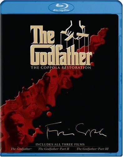 The Godfather - The Coppola Restoration Giftset (The Godfather / The Godfather Part II / The Godfather Part III) [Blu-ray]
