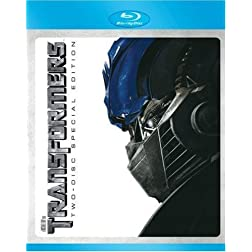 Transformers (Two-Disc Special Edition) [Blu-ray]