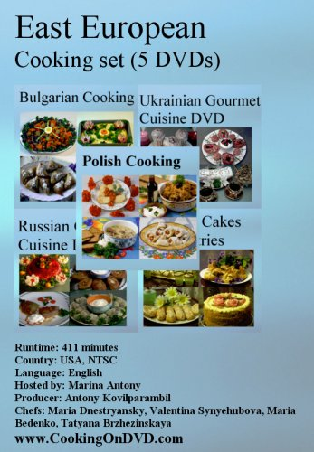 East European Cooking Set (5 DVDs)