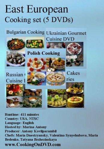 East European Cooking Set (5 DVDs)