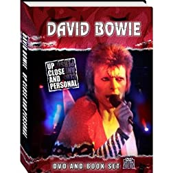 David Bowie: Up Close & Personal (w/ Book)