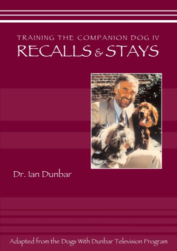 Training The companion Dog 4 --  Recalls and Stays