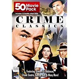 Crime Classics 50 Movie Pack (12pc)
