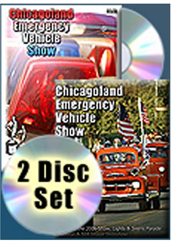 2005/2006 Chicagoland Emergency Vehicle Show 2 Disc Collection