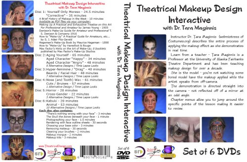 Theatrical Makeup Design Interactive: Complete Set