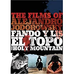 The Films of Alejandro Jodorowsky (Fando y Lis / El Topo / The Holy Mountain)