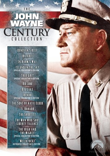 The John Wayne Century Collection (Big Jake, Donovan's Reef, El Dorado, Hatari!, Hondo, In Harm's Way, Island in the Sky, McLintock!, Rio Lobo, The High and the Mighty, etc.)