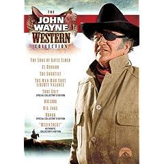 The John Wayne Western Collection (The Man Who Shot Liberty Valance / True Grit / Hondo / McLintock! / Big Jake / The Shootist / Rio Lobo / The Sons of Katie Elder / El Dorado)
