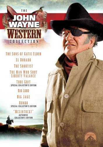 The John Wayne Western Collection (The Man Who Shot Liberty Valance / True Grit / Hondo / McLintock! / Big Jake / The Shootist / Rio Lobo / The Sons of Katie Elder / El Dorado)