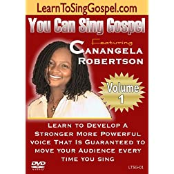 DVD - Learn To Sing Gospel