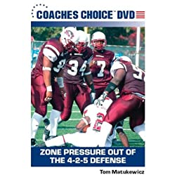 Zone Pressure Out of the 4-2-5 Defense