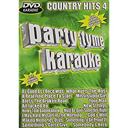 Party Tyme Karaoke: Country Hits, Vol. 4