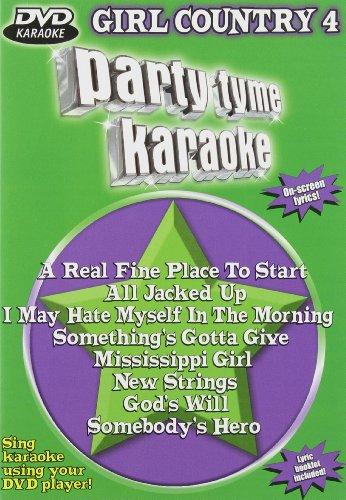 Party Tyme Karaoke: Girl Country, Vol. 4