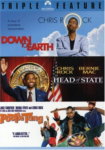 The Chris Rock Triple Feature (Down To Earth, Head of State, Pootie Tang)