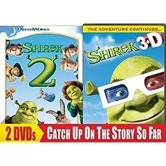 Shrek 2 (Widescreen) / Shrek 3D - Party in the Swamp