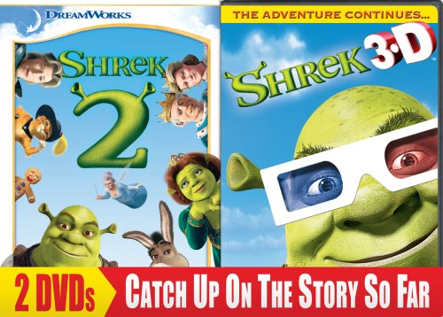 Shrek 2 (Full Screen) / Shrek 3D - Party in the Swamp