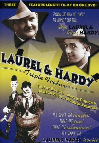 Laurel and Hardy Triple Feature