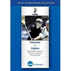 1993 NCAA(R) Division I Women's Lacrosse Championship
