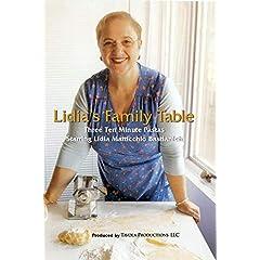Lidia's Family Table - Three Ten Minute Pastas