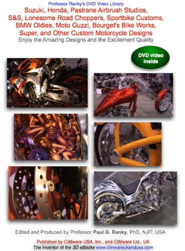 Suzuki, Honda, Pastrane Airbrush Studios, S&S, Lonesome Road Choppers, Sportbike Customs, BMW Oldies, Moto Guzzi, Bourget's Bike Works, Super, and Other ... Amazing Designs and the Excitement Quality