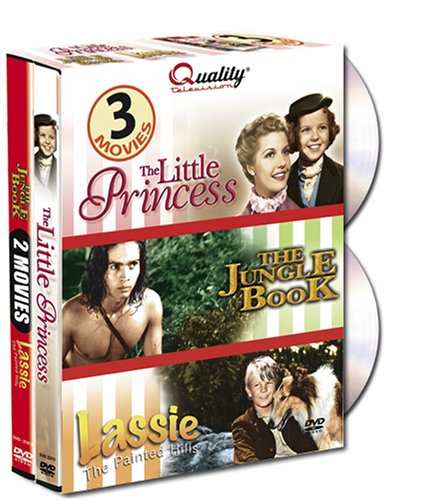 The Little Princess/Jungle Book/Lassie: The Painted Hills