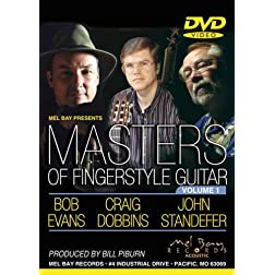 Masters of Fingerstyle Guitar