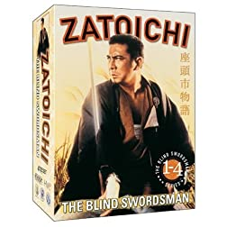 Zatoichi The Blind Swordsman: Vols. 1-4