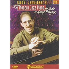 Andy LaVerne's Guide To Modern Jazz Piano-For Solo or Group Playing-DVD#1