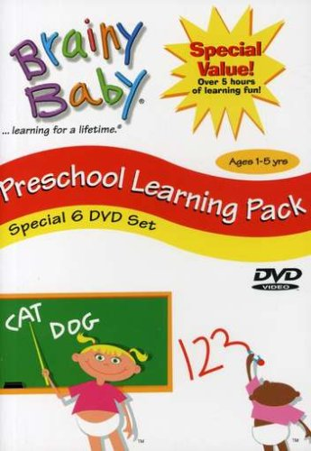 Brainy Baby: Pre-School Learning Pack