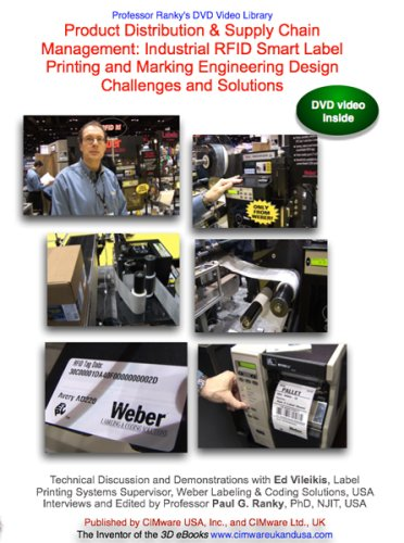 Product Distribution & Supply Chain Management: Industrial RFID Smart Label Printing and Marking Engineering Design Challenges and Solutions