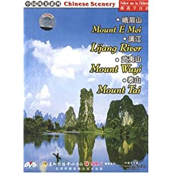 Chinese Scenery: Mount E Mei / Lijiang River / Mount Wuyi / Mount Tai