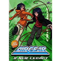 Air Gear, Vol. 3: A New Legacy