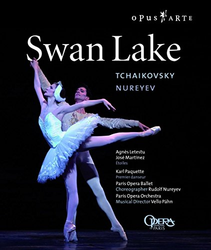 Tchaikovsky - Swan Lake / Nureyev, Letestu, Martinez, Paris Opera Ballet [HD DVD]