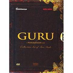 Guru (Abhishek Bachchan, Aishwarya Rai) DVD