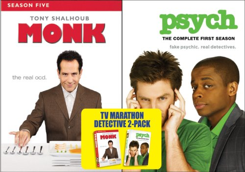 Monk: Season Five/Psych: The Complete First Season