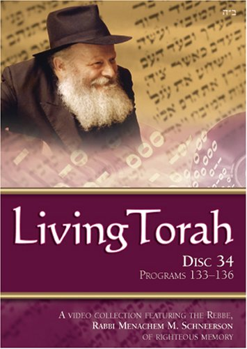Living Torah Disc 34 Program 133-136