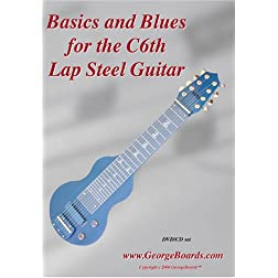 Lap Steel Guitar Instructional DVD GeorgeBoards Basics and Blues - (NTSC)