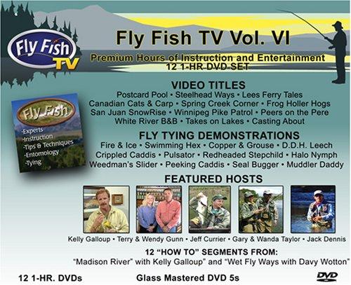 Fly Fish TV Vol. VI 12-1HR. DVDs