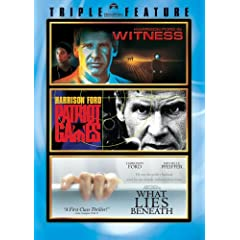 Harrison Ford Triple Feature (Witness, Patriot Games, What Lies Beneath)