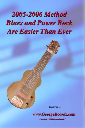Lap Steel Guitar Instructional DVD GeorgeBoards Blues and Power Rock Are Easier Than Ever - (PAL)